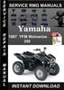 Thumbnail 1997 Yamaha YFM Wolverine 350 Service Repair Manual Download