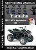 Thumbnail 1997 Yamaha YFM Wolverine 350 Service Repair Manual Download