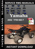 Thumbnail 2002 Yamaha YFM 660 F Service Repair Manual Download