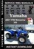 Thumbnail 2001 Yamaha YFM Wolverine 350 Service Repair Manual Download