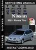 Thumbnail 2003 Nissan Almera Tino Service Repair Manual Download