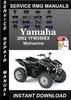 Thumbnail 2002 Yamaha YFM Wolverine 350 Service Repair Manual Download