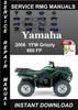 Thumbnail 2006 Yamaha YFM Grizzly 660 FP Service Repair Manual Downloa