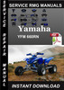 Thumbnail Yamaha YFM 660RN Service Repair Manual Download