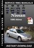 Thumbnail 1996 Nissan Altima Service Repair Manual Download