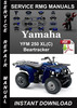 Thumbnail Yamaha YFM250XL(C) Beartracker Service Repair Manual Downloa
