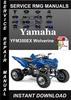 Thumbnail 2001 Yamaha YFM350EX Wolverine Service Repair Manual Downloa