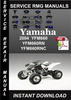 Thumbnail 2004 Yamaha YFM660 YFM660RN YFM660RNC Service Repair Manual