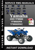 Thumbnail 2005 Yamaha YFM660 YFM660RN YFM660RNC Service Repair Manual