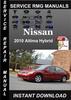 Thumbnail 2010 Nissan Altima Hybrid Service Repair Manual Download