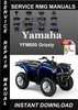 Thumbnail Yamaha YFM600 Grizzly Service Repair Manual Download