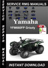 Thumbnail Yamaha YFM660FP Grizzly Service Repair Manual Download