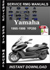Thumbnail 1995-1999 Yamaha YP250 Service Repair Manual Download