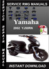 Thumbnail 2002 Yamaha YJ50RN Service Repair Manual Download