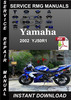 Thumbnail 2002 Yamaha YZF R1 Service Repair Manual Download