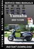 Thumbnail 2003 Yamaha YJ125S Service Repair Manual Download