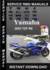 Thumbnail 2003 Yamaha YZF R6 Service Repair Manual Download