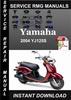 Thumbnail 2004 Yamaha YJ125S Service Repair Manual Download