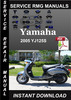 Thumbnail 2005 Yamaha YJ125S Service Repair Manual Download