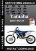 Thumbnail 2005 Yamaha YZ125T1 Service Repair Manual Download