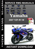 Thumbnail 2007 Yamaha YZF R1 W Service Repair Manual Download
