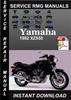 Thumbnail 1982 Yamaha XZ550 Service Repair Manual Download