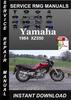 Thumbnail 1984 Yamaha XZ550 Service Repair Manual Download
