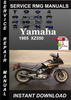 Thumbnail 1985 Yamaha XZ550 Service Repair Manual Download