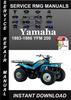 Thumbnail 1983-1986 Yamaha YFM 200 Service Repair Manual Download