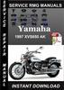 Thumbnail 1997 Yamaha XVS650 AK Service Repair Manual Download