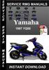Thumbnail 1997 Yamaha YQ50 Service Repair Manual Download