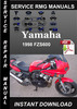 Thumbnail 1998 Yamaha FZS600 Service Repair Manual Download