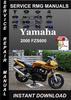 Thumbnail 2000 Yamaha FZS600 Service Repair Manual Download
