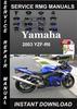 Thumbnail 2003 Yamaha YZF-R6 Service Repair Manual Download