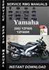Thumbnail 2002 Yamaha YZF600 YZF600R Service Repair Manual Download