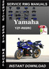 Thumbnail Yamaha  YZF-R6SRC Service Repair Manual Download
