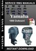 Thumbnail 1996 Yamaha Outboard Service Repair Manual Download