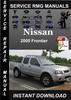 Thumbnail 2005 Nissan Frontier Service Repair Manual Download