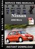 Thumbnail 2006 Nissan Micra Service Repair Manual Download