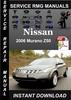 Thumbnail 2006 Nissan Murano Z50 Service Repair Manual Download