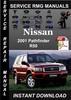 Thumbnail 2001 Nissan Pathfinder R50 Service Repair Manual Download