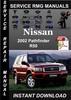 Thumbnail 2002 Nissan Pathfinder R50 Service Repair Manual Download
