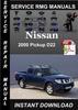 Thumbnail 2000 Nissan Pickup D22 Service Repair Manual Download