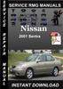 Thumbnail 2001 Nissan Sentra Service Repair Manual Download