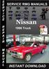 Thumbnail 1996 Nissan Truck Service Repair Manual Download
