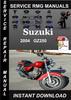 Thumbnail 2004 Suzuki GZ250 Service Repair Manual Download