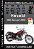 Thumbnail 2004 Suzuki Savage LS650 Service Repair Manual Download