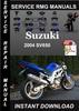 Thumbnail 2004 Suzuki SV650 Service Repair Manual Download
