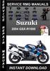 Thumbnail 2004 Suzuki GSX-R1000 Service Repair Manual Download