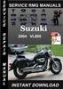 Thumbnail 2004 Suzuki VL800 Service Repair Manual Download
